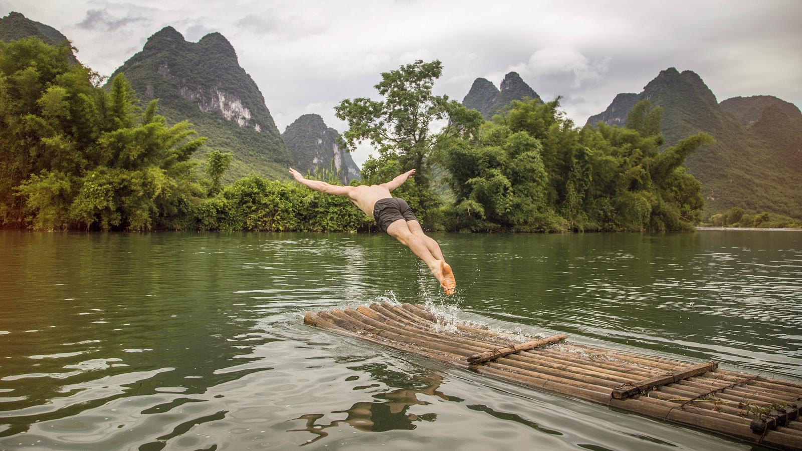 Yangshuo China Reise für junge Leute in der Gruppe traveljunkies